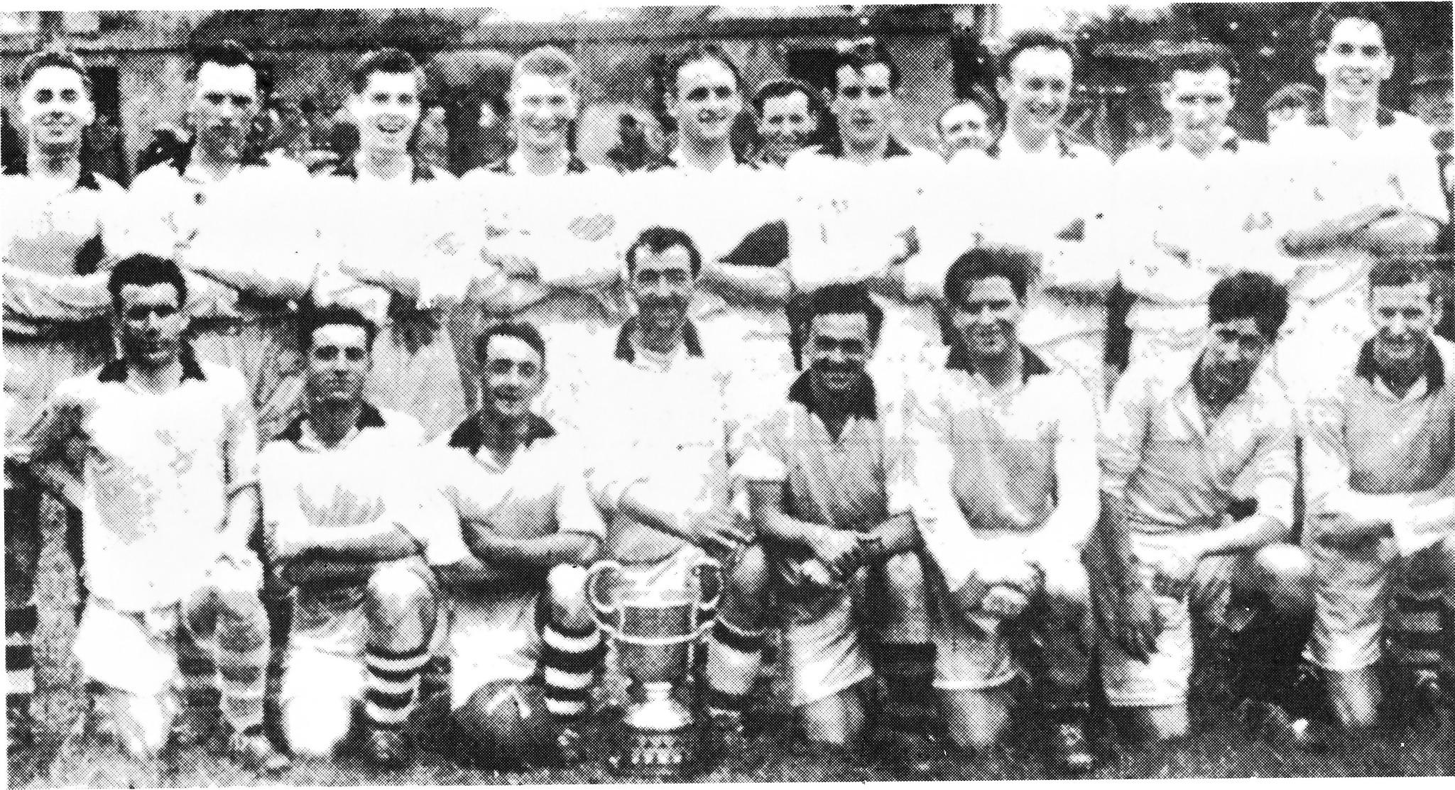 1954 - The first ever team to win a three-in-a-row title in Tyrone