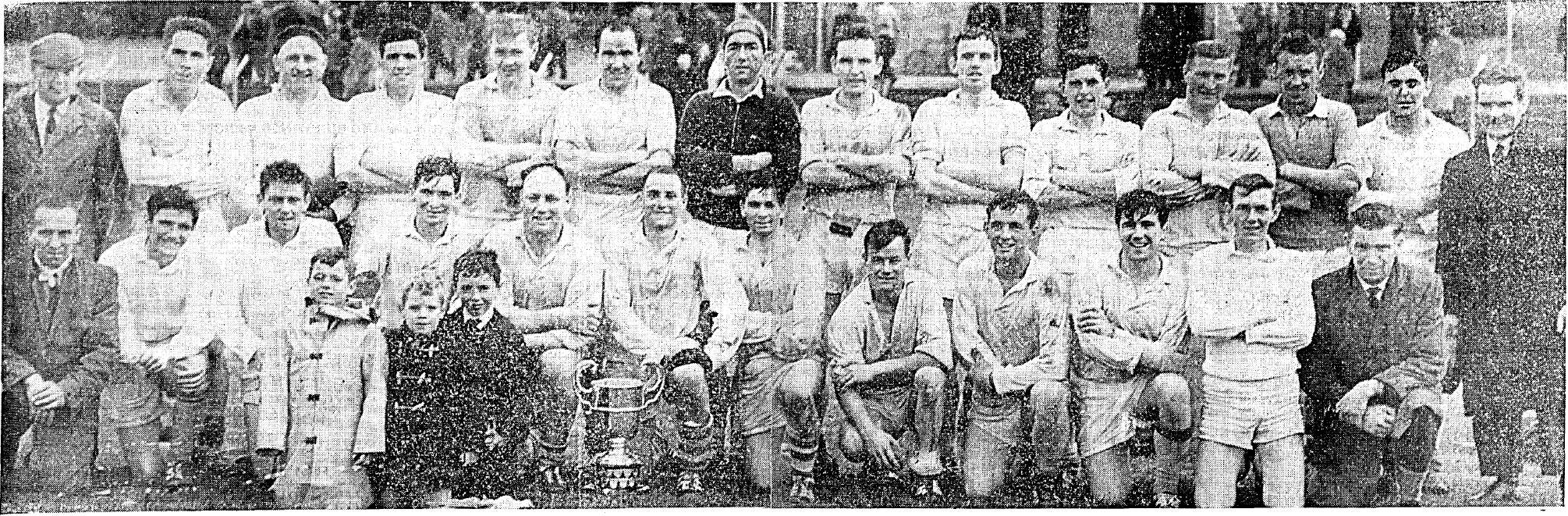 The 1963 Senior championship winning side