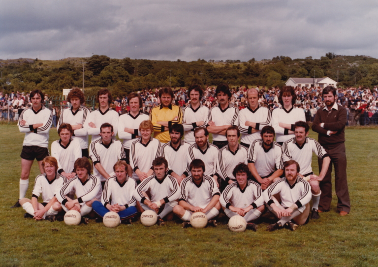 1980: Tyrone ACL Div 1 winners, Jim Devlin Cup winners and Championship finalists