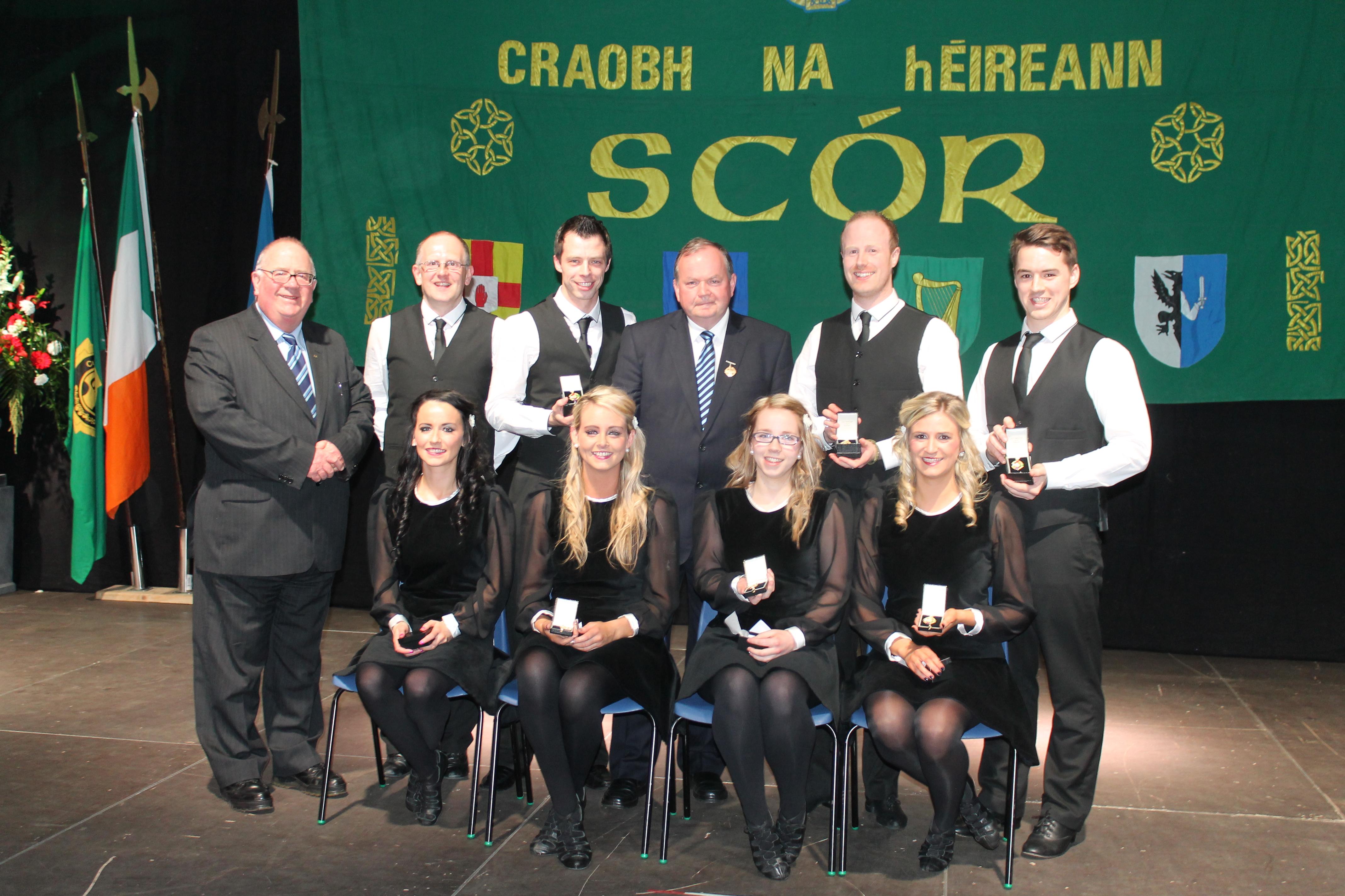 2013 All-Ireland Scór Sinsear Ceili Dance Champions