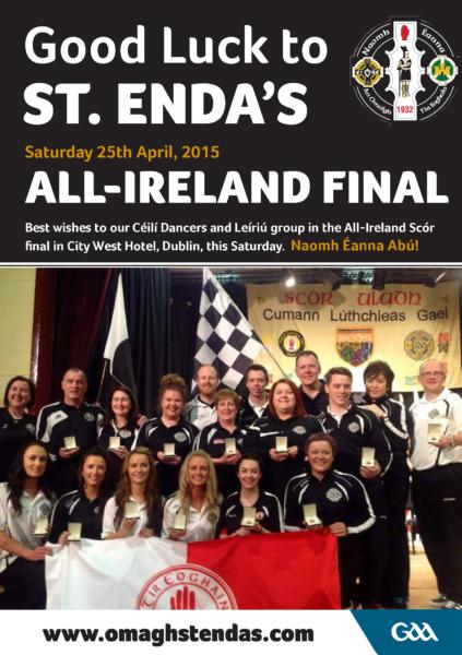 Scor Sinsir All-Ireland final 2015
