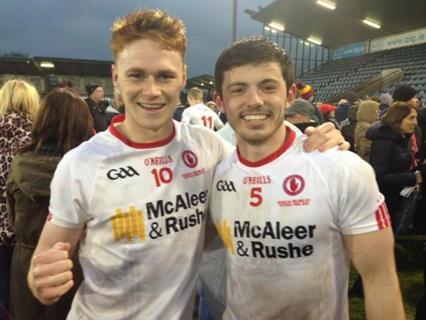 All-Ireland champions: Well done Conor and Ciaran
